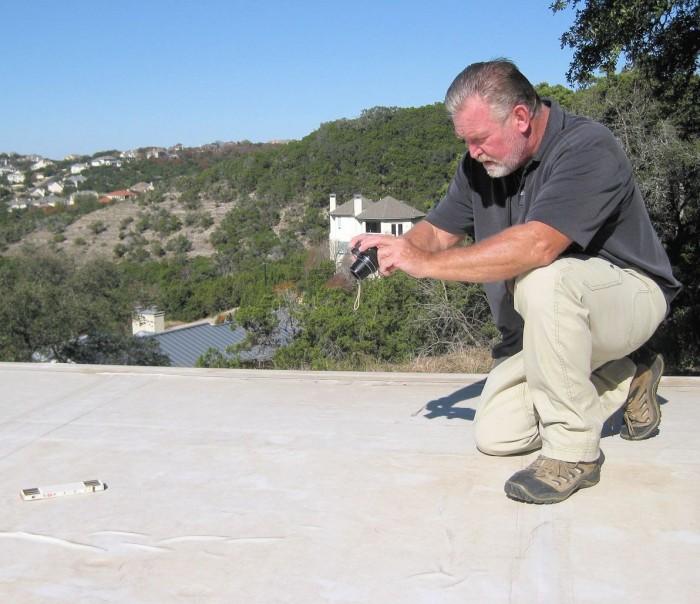Don Putnam at work