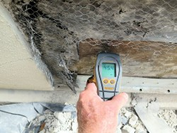 Stucco moisture meter
